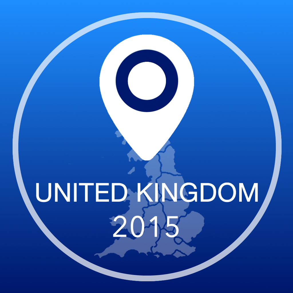 United Kingdom Offline Map + City Guide Navigator, Attractions and Transports